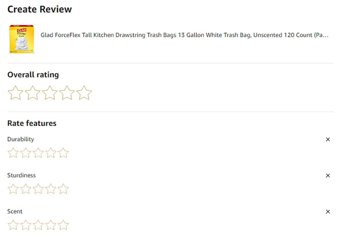 What is the Amazon Request a Review Button