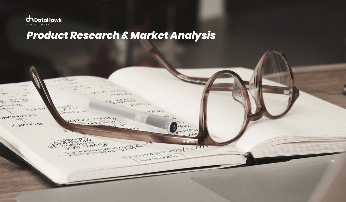 Running Product Research and Market Analysis on Amazon with DataHawk