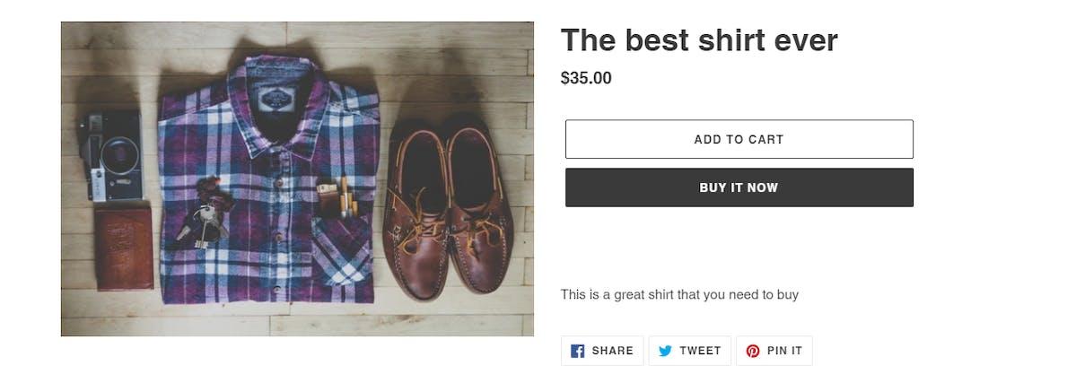 Shopify Product Page Optimization