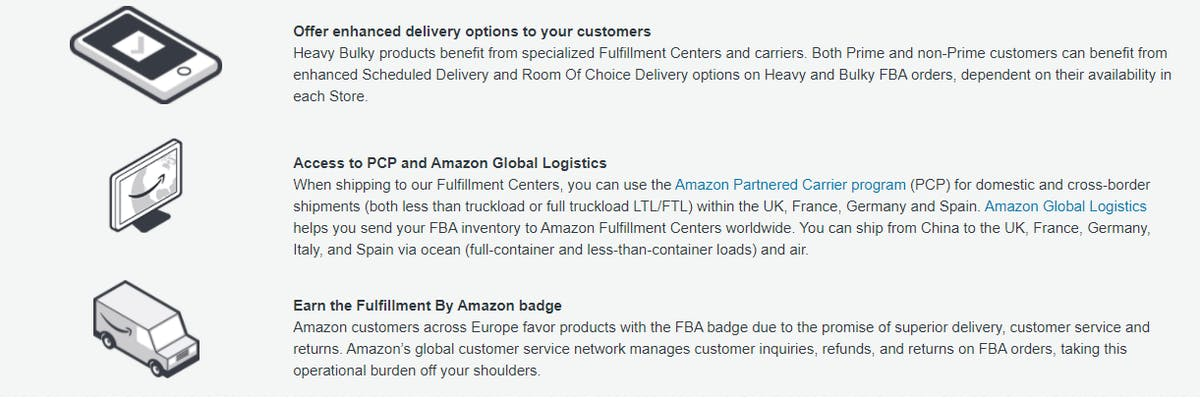 Amazon's FBA Program UK (New Launch)