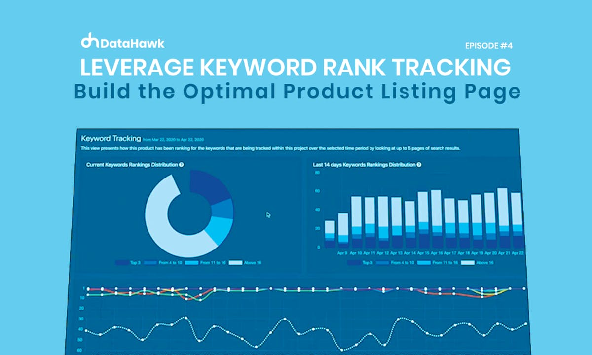 Amazon Keyword Rank Tracking to Build the Optimal Product Listing Page