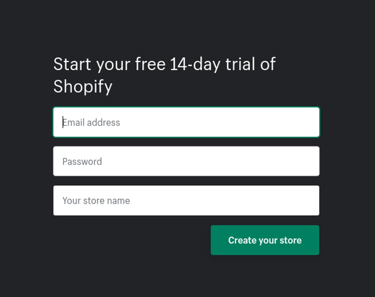 How to start selling on Shopify