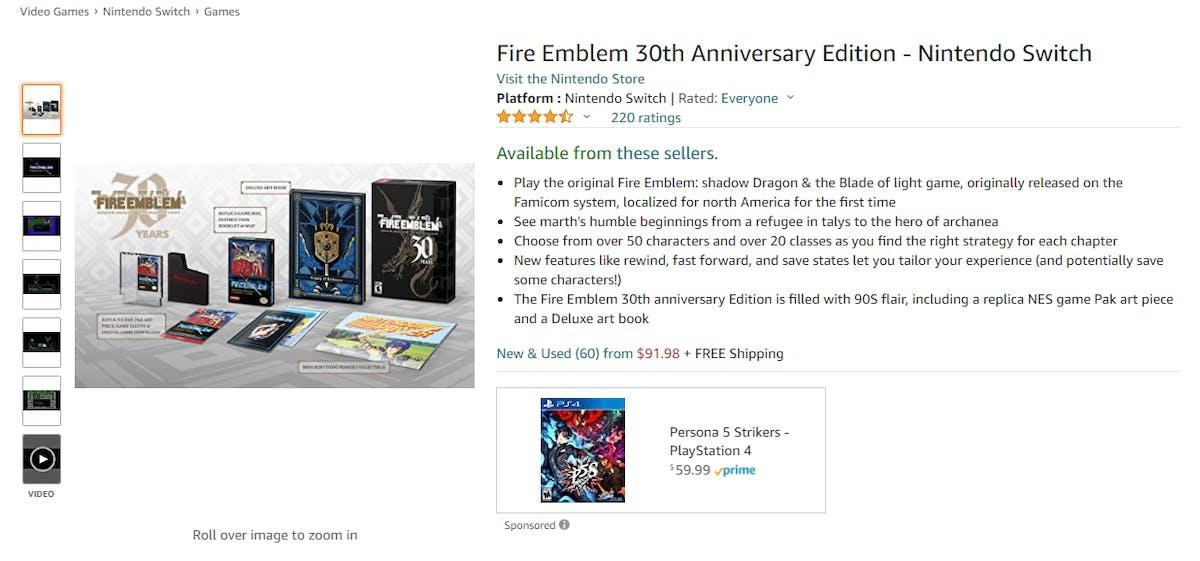 Amazon Best Seller Analysis: Video Games