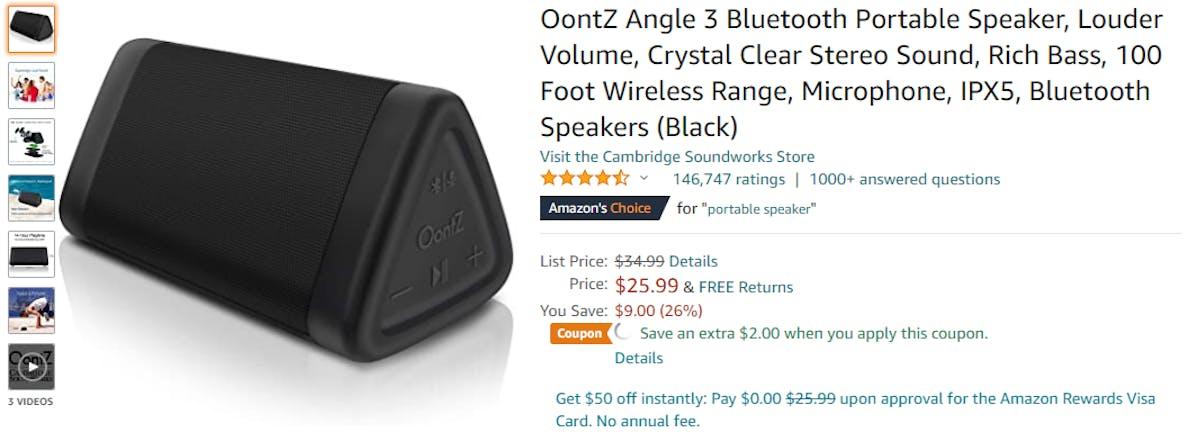 Extra Savings Amazon Badges