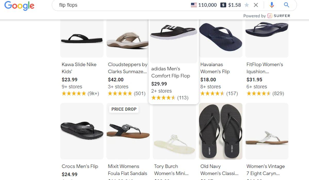Keywords on Shopify