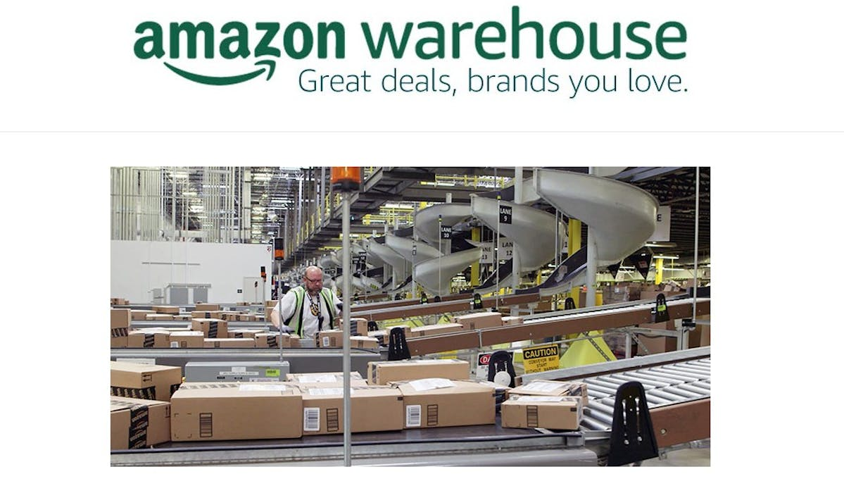 What Are Amazon Warehouse Deals?