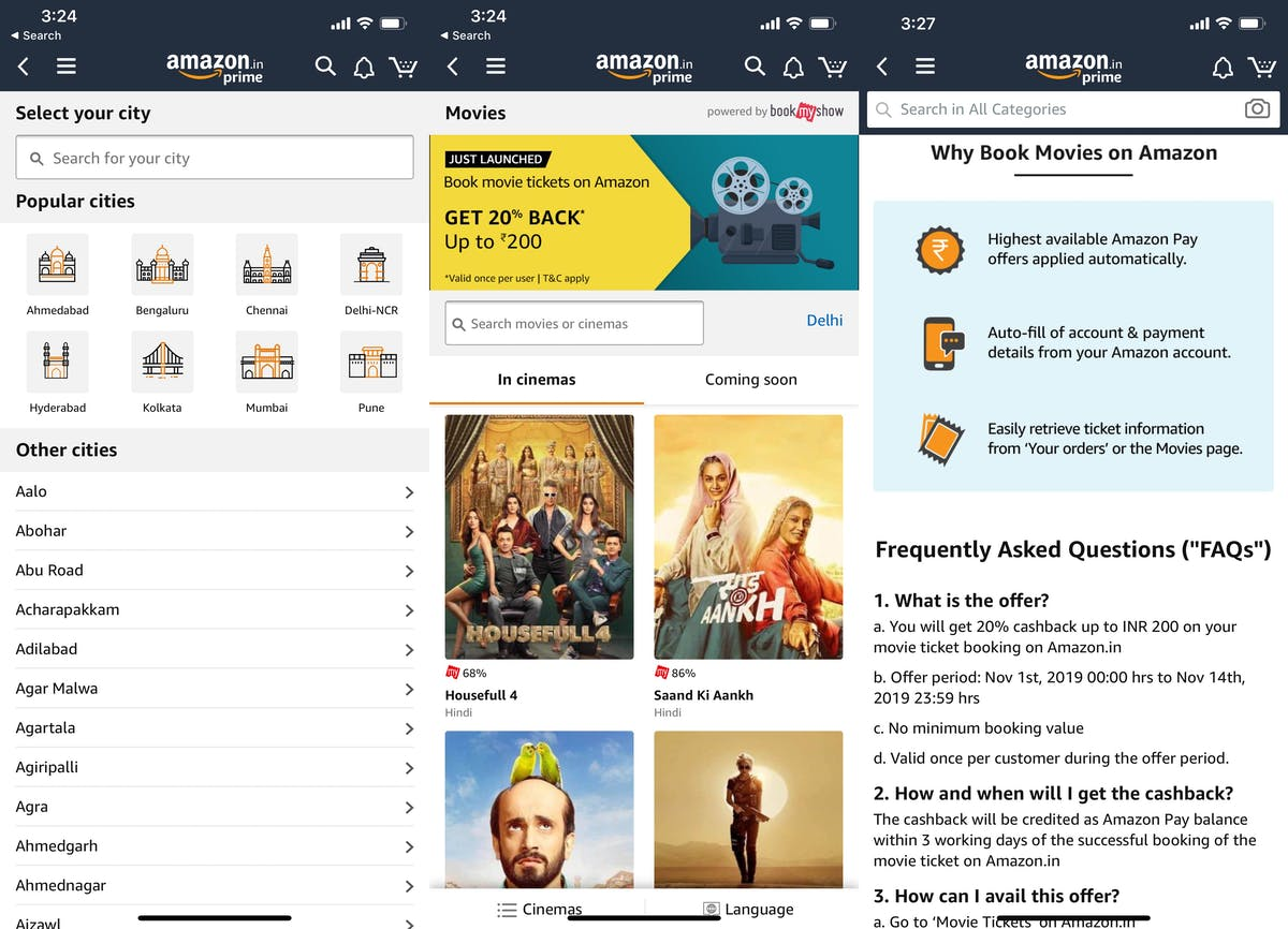 Amazon Movie Tickets DataHawk Blog