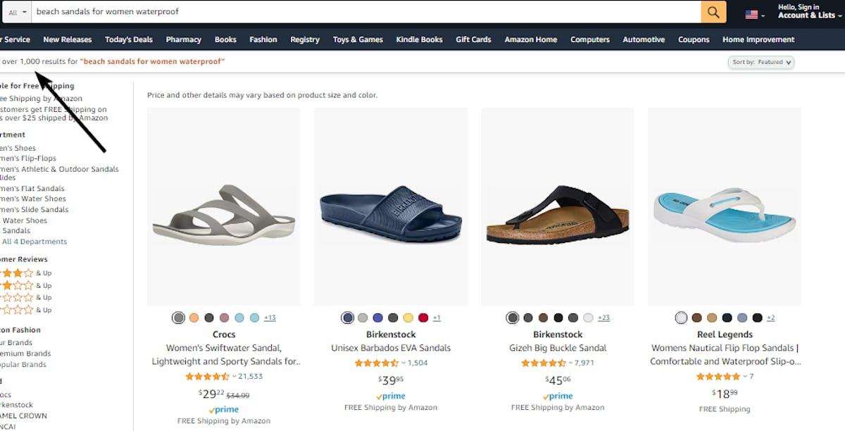 Amazon Advanced Search using syntax
