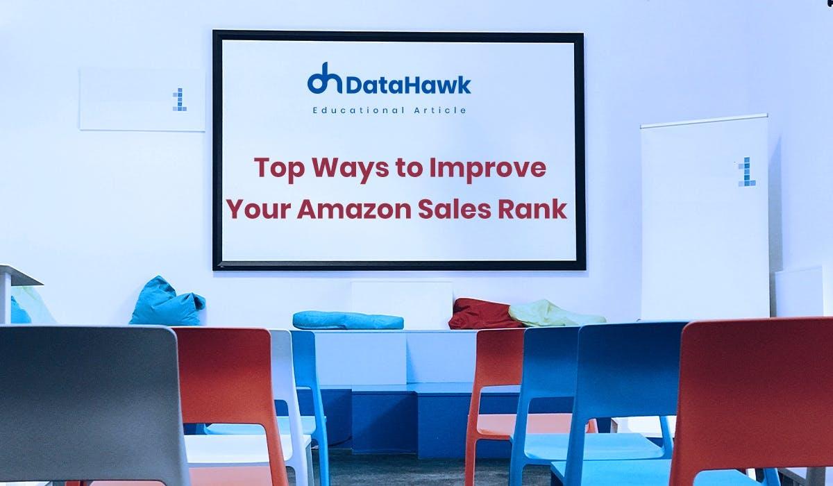 Improve Amazon Sales Rank