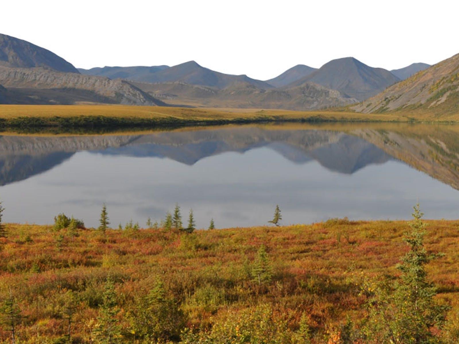 Horn Lake, Mackenzie River Basin, Northwest Territories