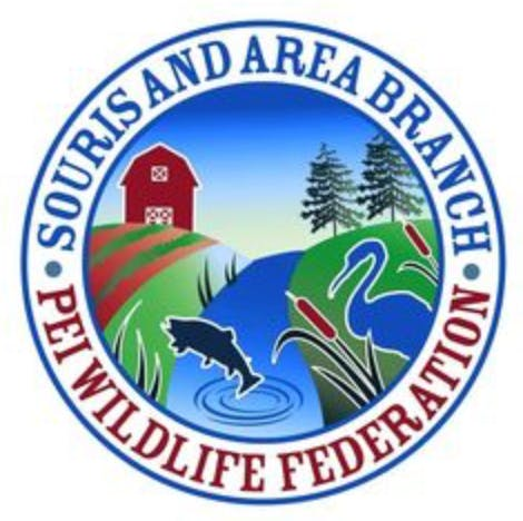 Souris and Area Branch of the PEI Wildlife Federation Logo