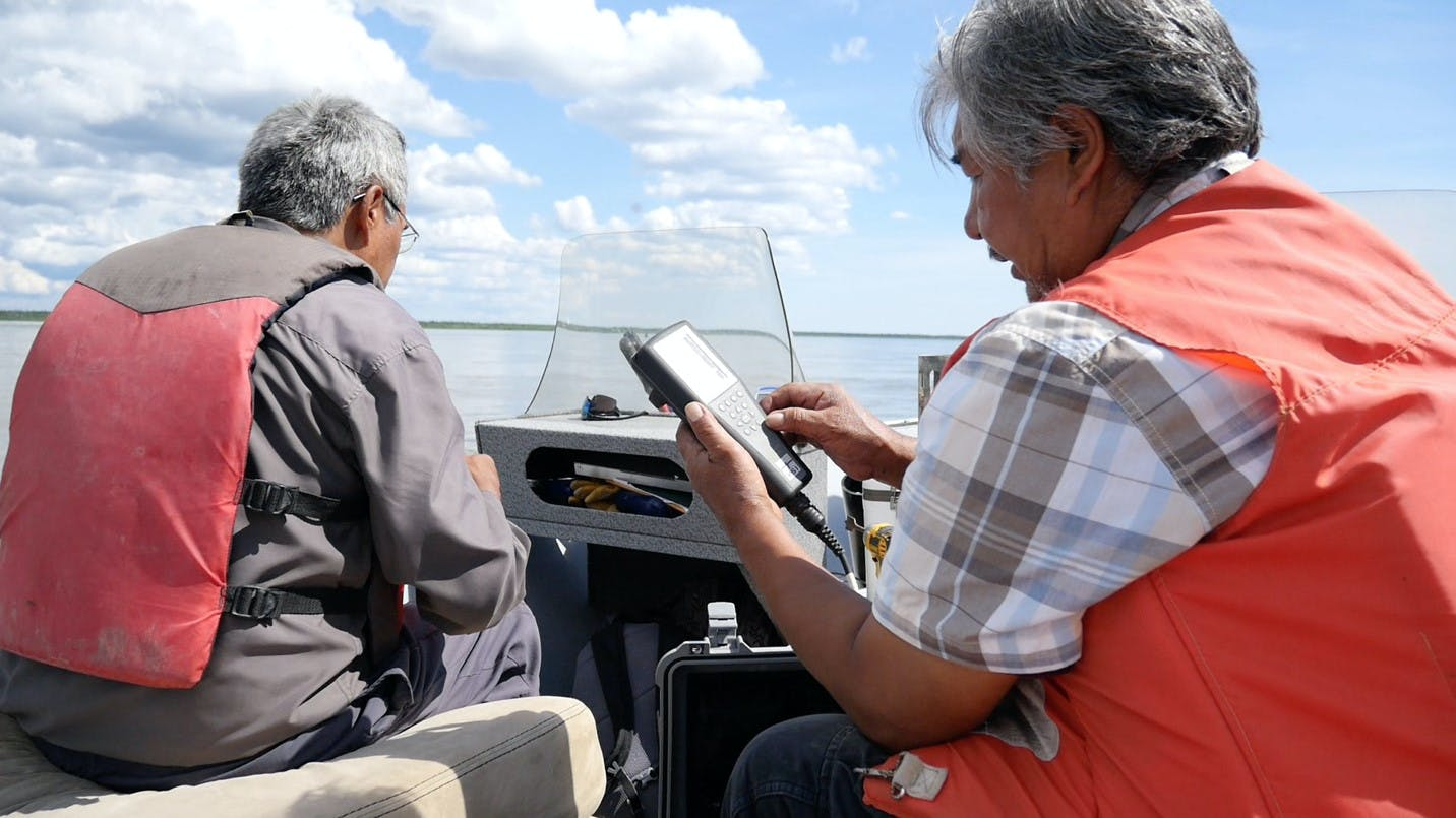 Community-based water monitoring in the Northwest Territories (summer 2018)