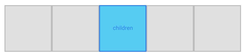 CSS grid aligned item