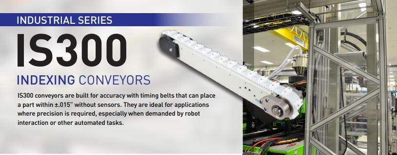QC Coveyors - IS300 Indexing Conveyors