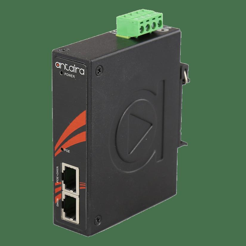 Antaira - Industrial Gigabit IEEE 802.3bt Type 44PPoE Injector