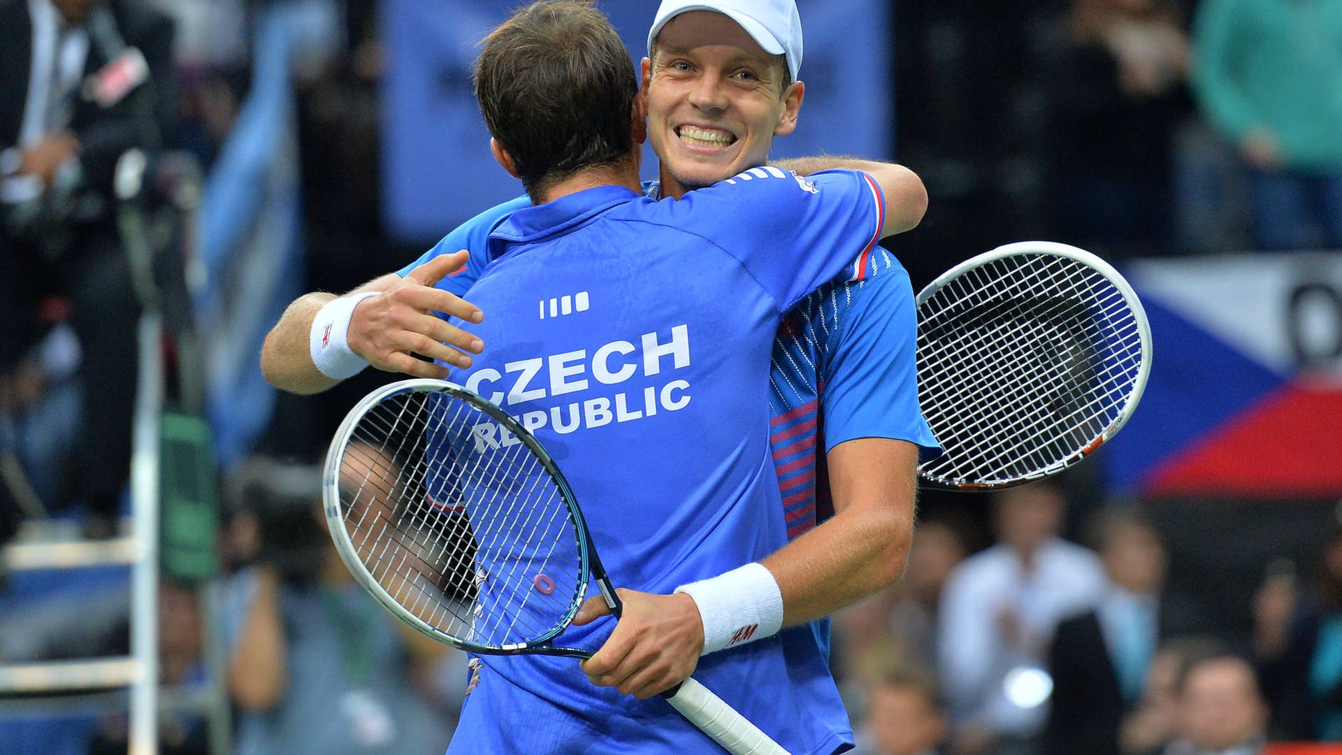Tomas Berdych and Radek Stepanek // © Martin Sidorjak
