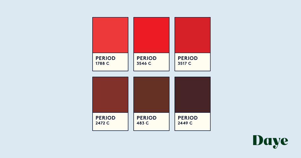 Brown Or Black Period Blood Here S What It Means Daye
