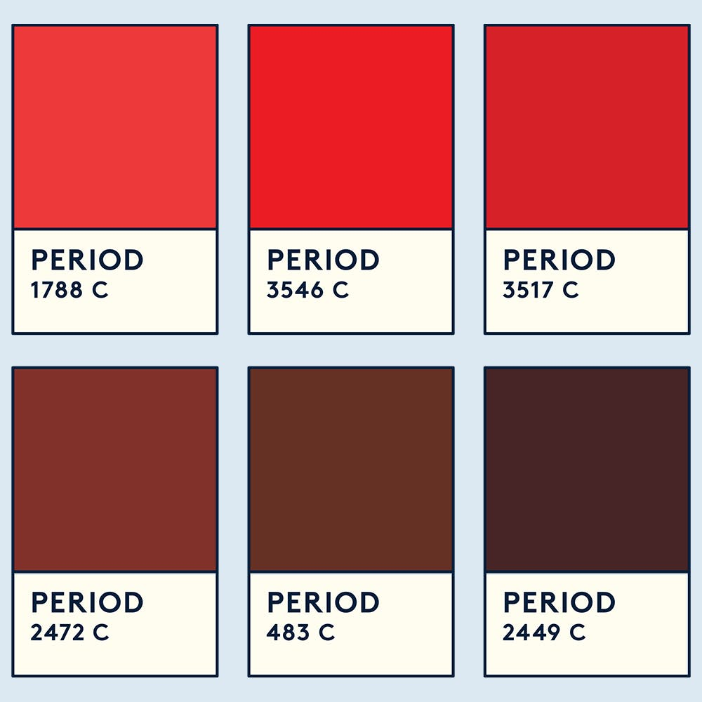 Brown Or Black Period Blood? Here's What It Means - Daye