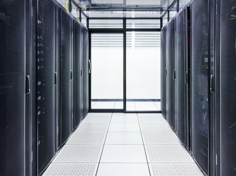 Datacenter en Cold corridor