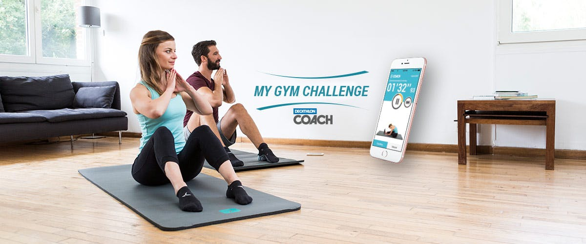 the latest recognized brands detailed look Decathlon Coach : BOOST YOUR VITALITY WITH MY GYM CHALLENGE!
