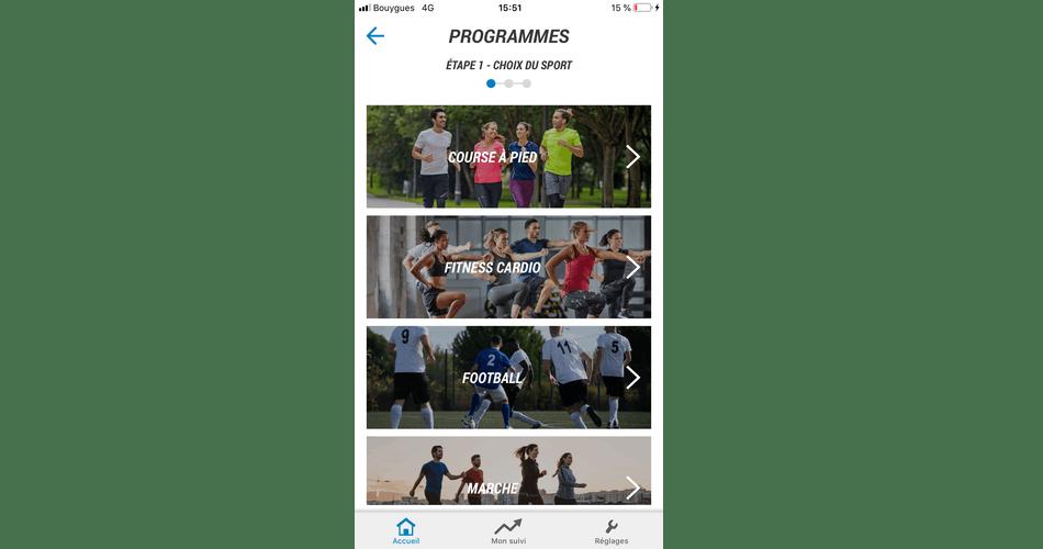 sleek factory outlet discount Decathlon Coach : Les plans d'entraînement et les séances libres