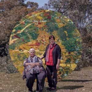 Photo of Aunty Edna Stewart & Aunty Muriel Williams