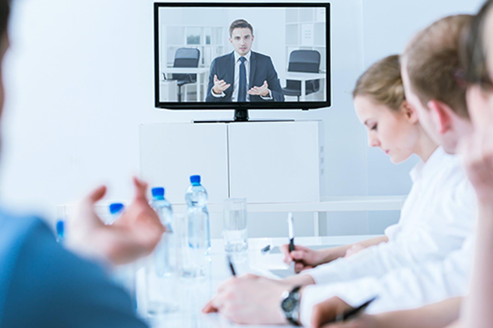 soluções de vídeo, voz e conteúdo