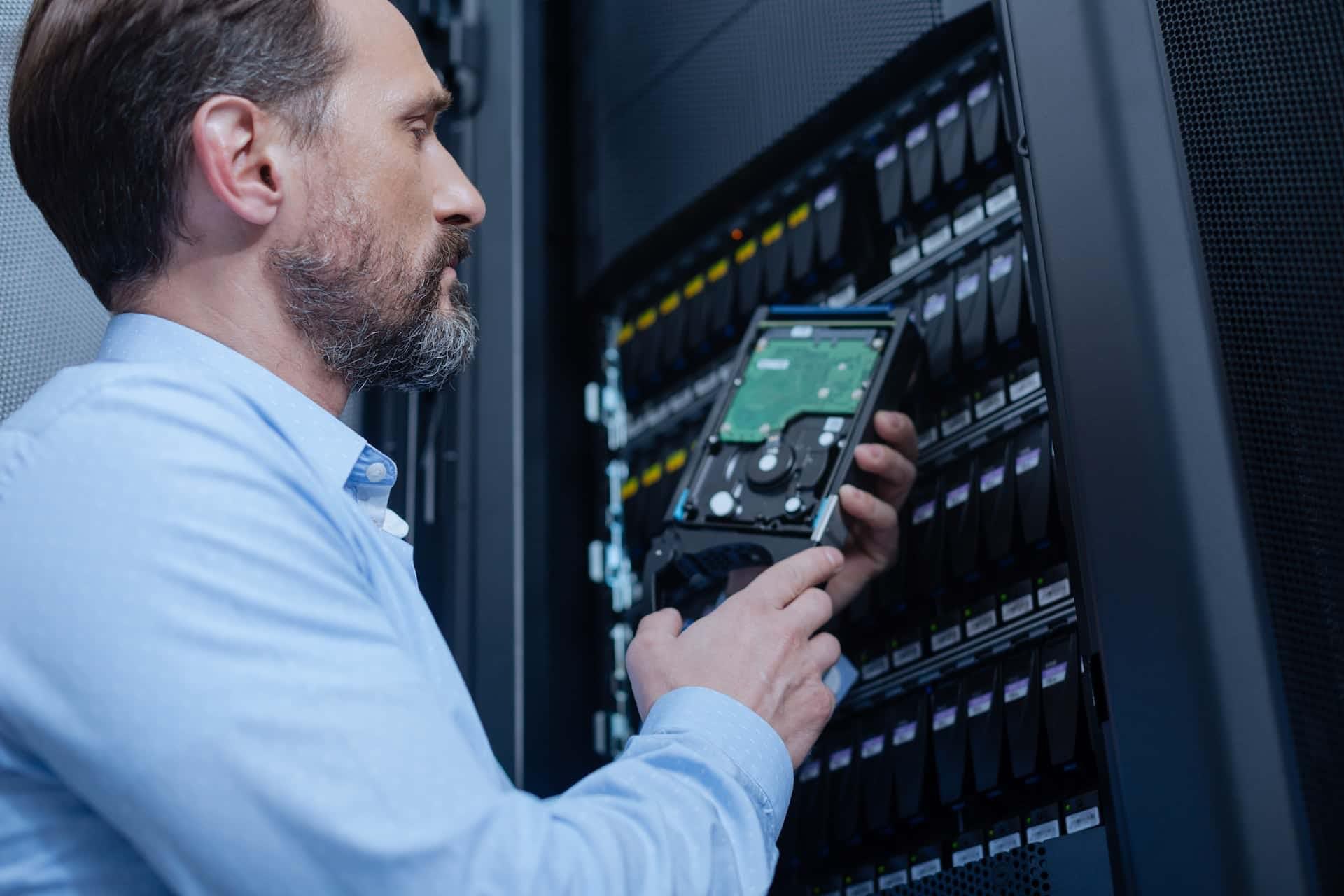 servidores e storage
