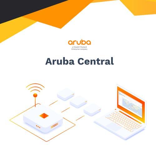 Aruba Central - gestão de redes
