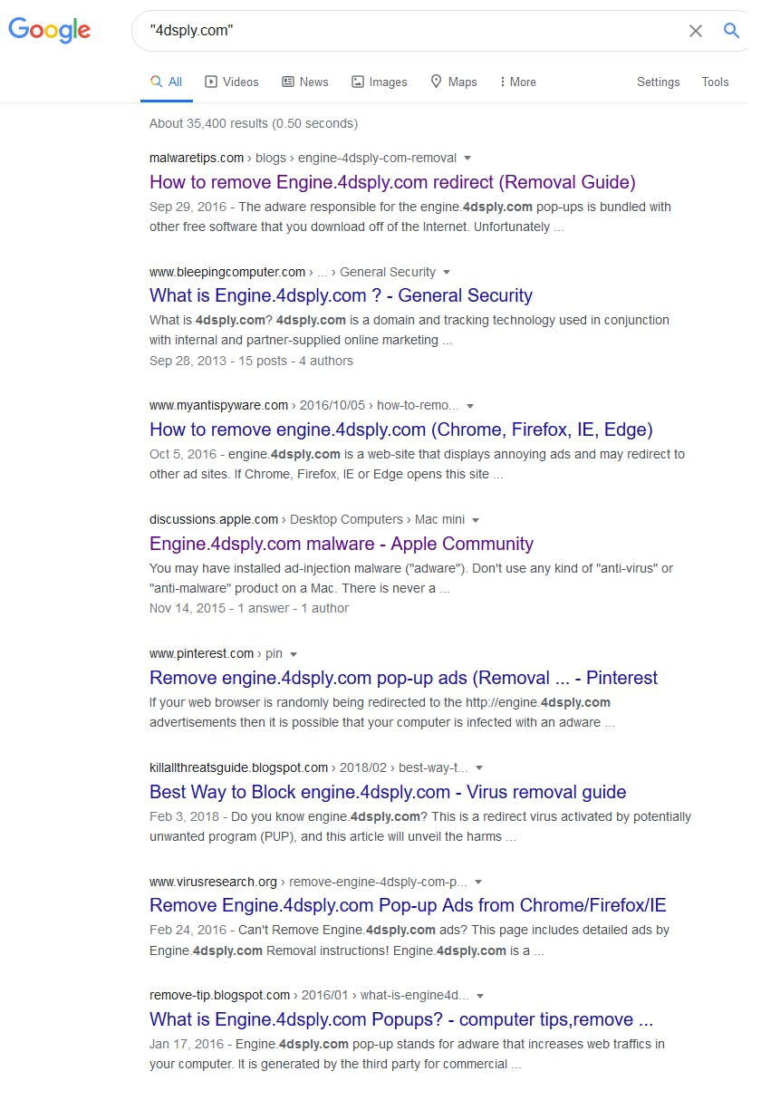 4dsply search results