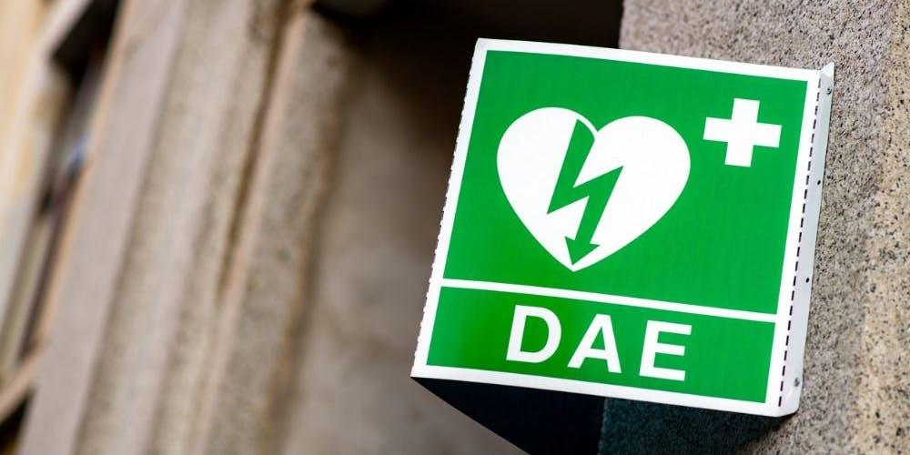 defibrillatore segno