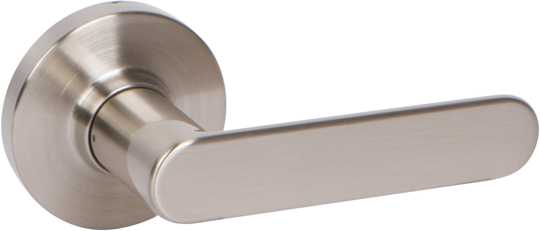 Chrome deadbolt Lock Delaney Hardware D54556 VL Dummy Lever
