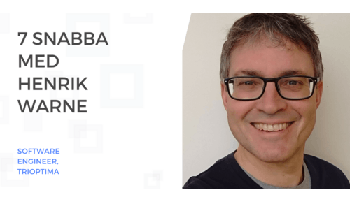 Sveriges vassaste utvecklare - 7 Snabba med Henrik Warne
