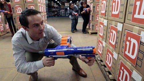 Nerfgun arbetsgivarnas nya vapen i jakten på techtalanger