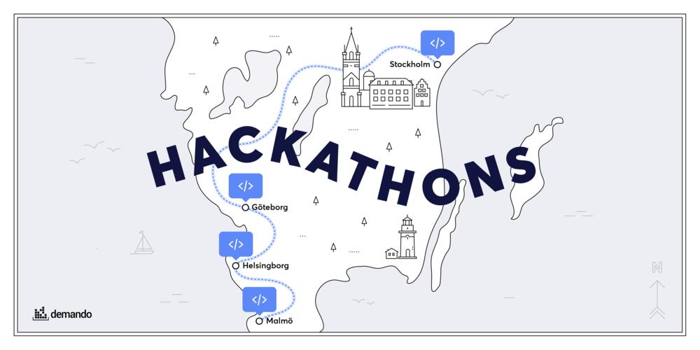 Guide till Sveriges Hackathons