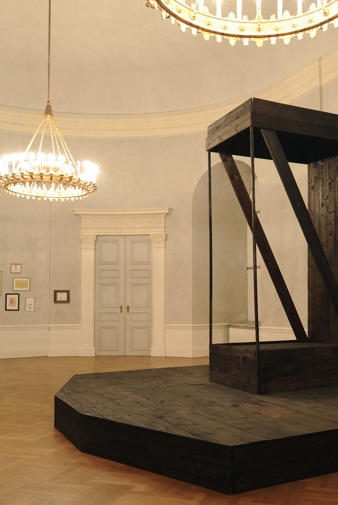 Meisterstücke und Kunst für Kunstpreisausstellung Bayerische Akademie der Schönen Künste Alexi Tsioris