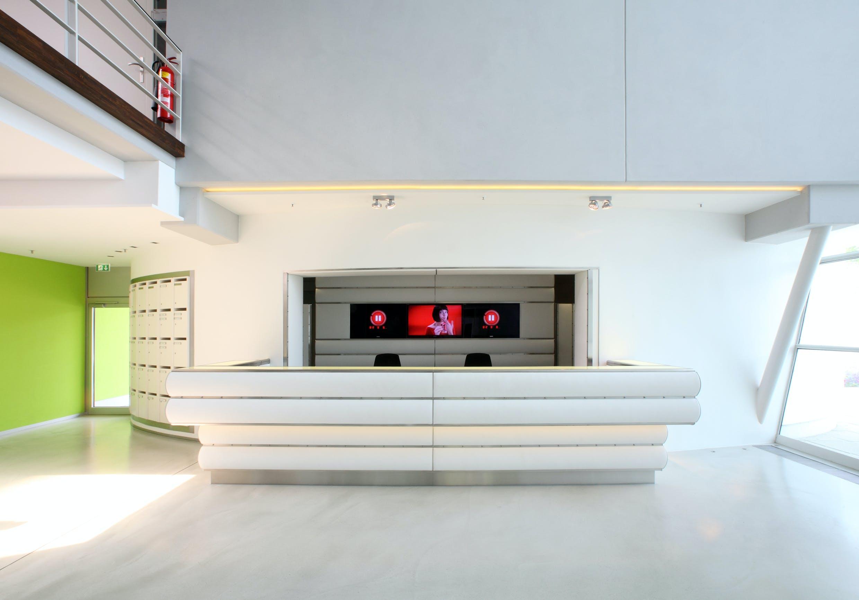 Firmeneinrichtung für Firmenzentrale RTL II Grünwald
