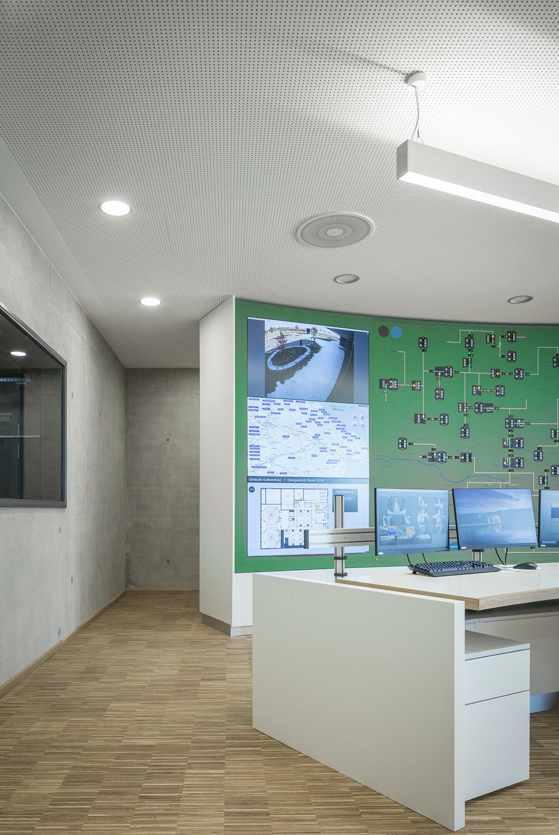 Firmeneinrichtung für Zentrale Waldwasser Wasserversorgung Bayerischer Wald
