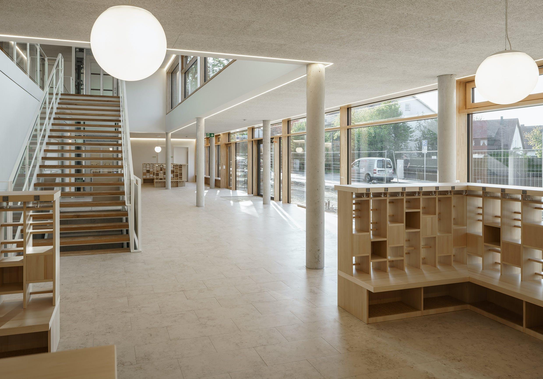 Inneneinrichtung-Bildungssektor für Katholischer Kindergarten Ismaning
