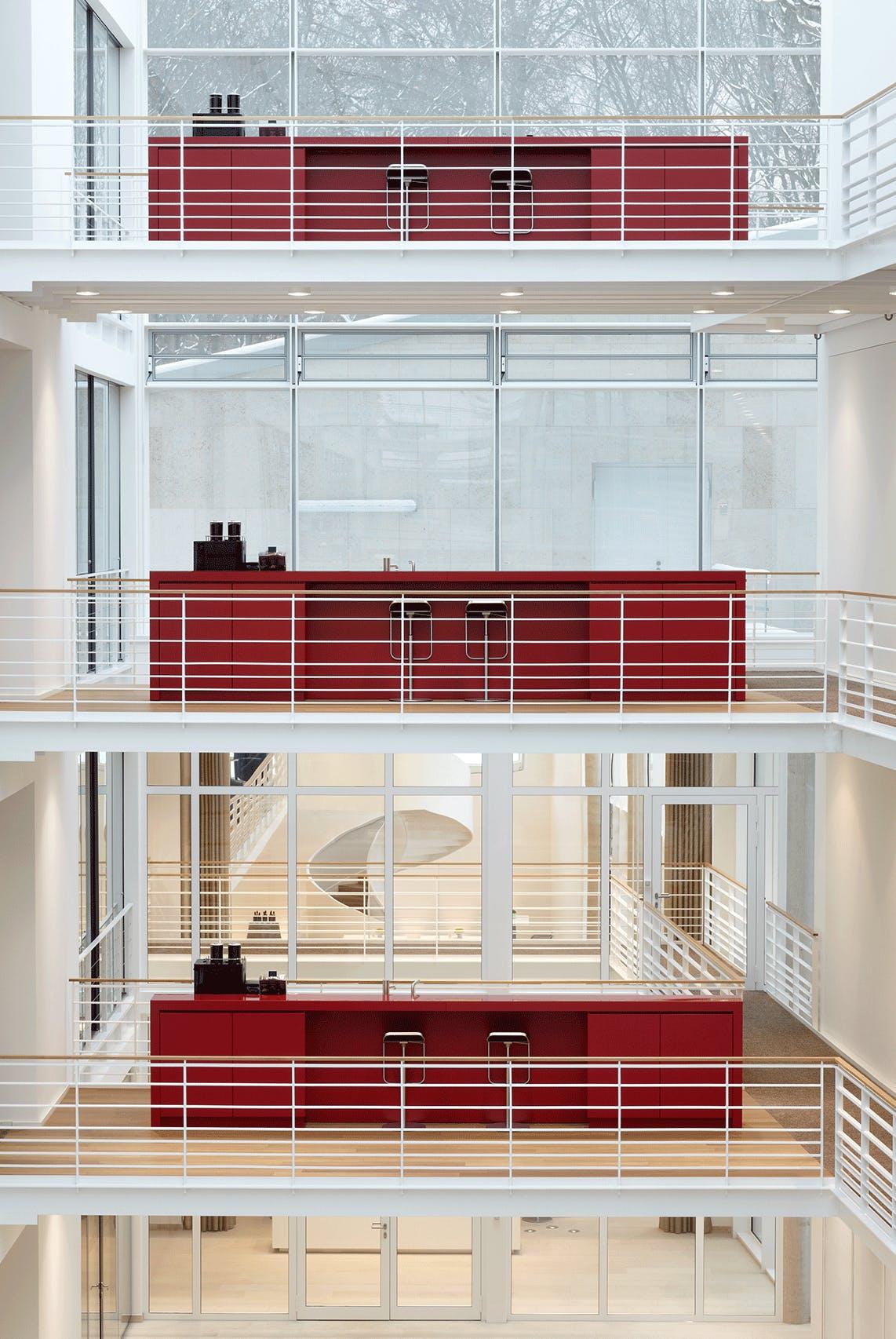 Firmeneinrichtung für LHI Campus Pullach