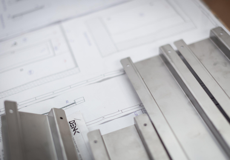 Ausführungsplanungder Denkwerkstatt mit einer Skizze