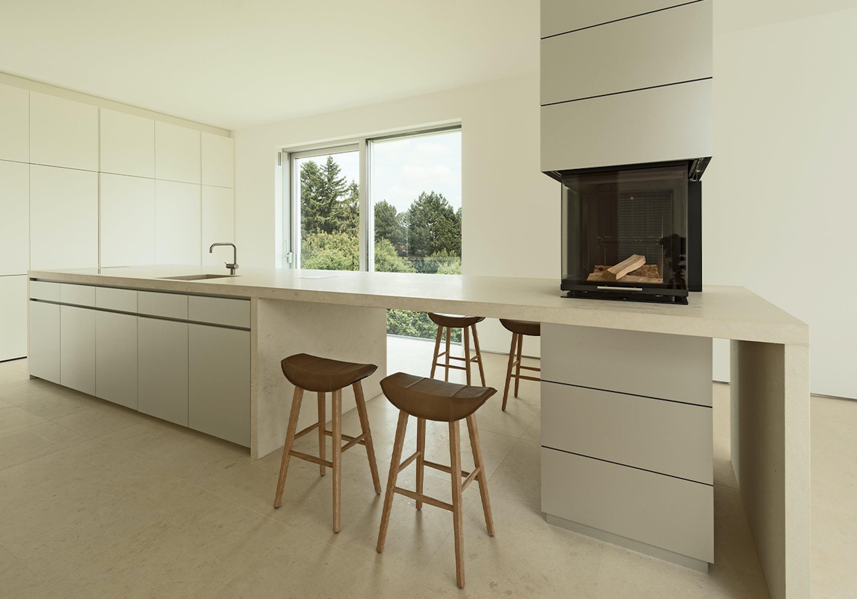 Inneneinrichtung einer Küche vom Schreiner
