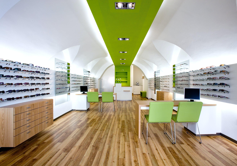 Ladeneinrichtung für Augenoptiker