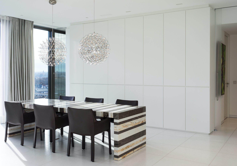 Wohnungseinrichtung und Küchen für Wohnturm