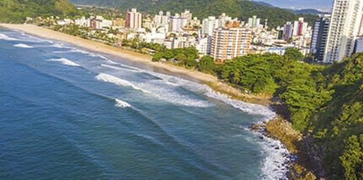 Santo André para Guarujá