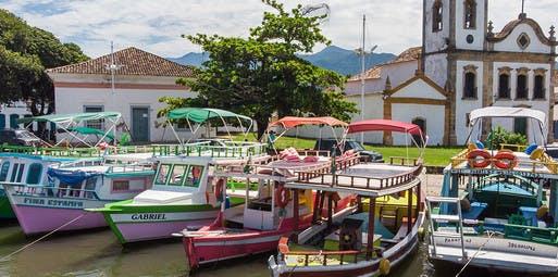 Itaguaí para Paraty