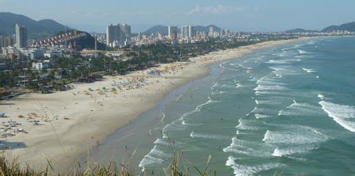 São Paulo para Guarujá