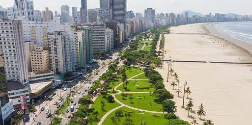 São Paulo para Santos