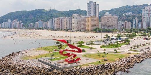 Curitiba para Santos