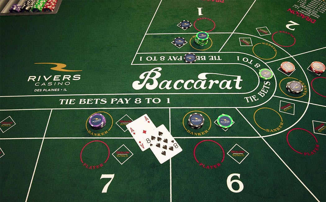 Baccarat & Mini Baccarat — Rivers Casino Des Plaines